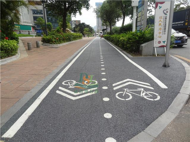 深圳盐田7标协和路新型透水沥青项目