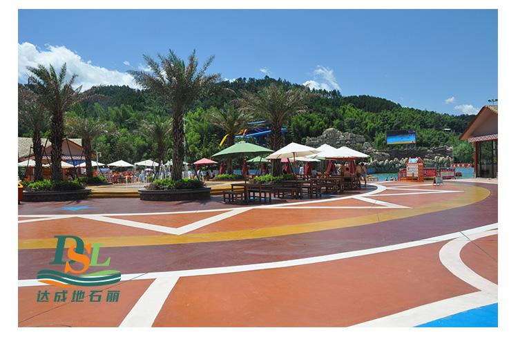 3d立体彩绘地坪,彩绘石艺术地坪案例